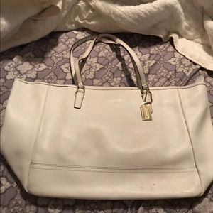 Coach Lether Tote Handbag
